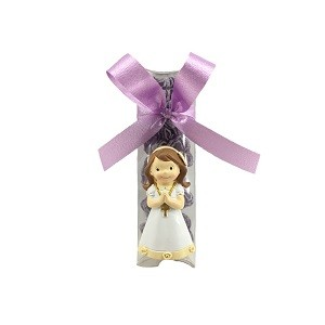 COMMUNION GIRL PRAYING MAGNET 30 GR