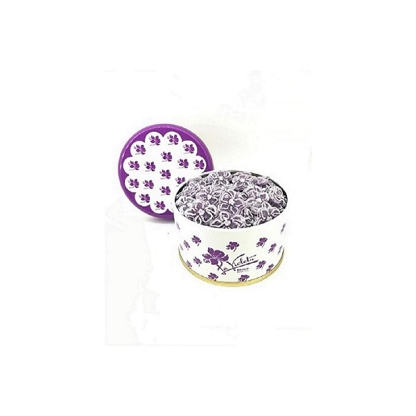 SMALL TIN 170 GR VIOLET CANDIES