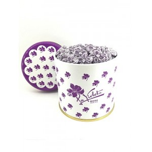 OLD FASHIONED TIN 300 GR VIOLET CANDIES